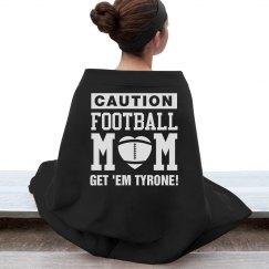 Cozy & Warm Football Mom Custom Blankets