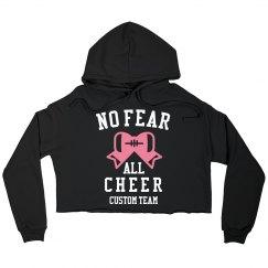 No Fear All Cheer Custom Name