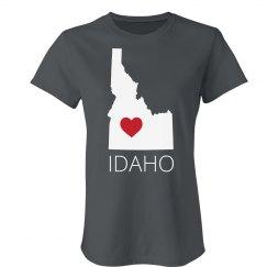Custom Idaho Heart