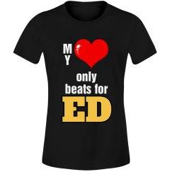 Heart beats for Ed