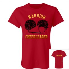 Warrior Cheer w/Back
