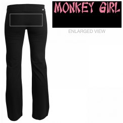 Monkey Girl Yoga Pants