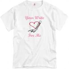 Your write for me