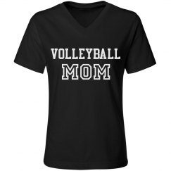 Cute Athletic Volleyball Mom