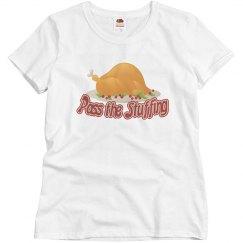 Pass the stuffing