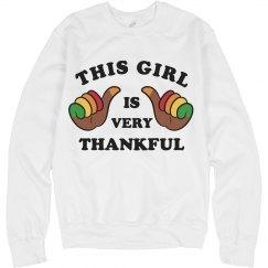 This Girl Turkey Hands