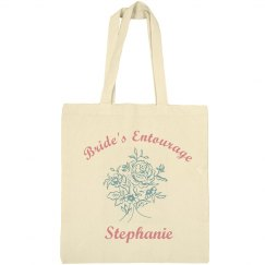 Bride's Entourage Tote Bag