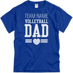 Custom Volleyball Dad