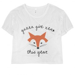 Gunna Give Zero Fox This New Year