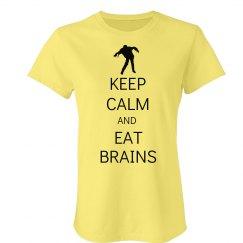 Keep Calm Eat Brains