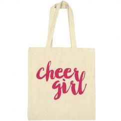 Cheer Girl Cheerleading Tote Bag