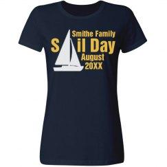 Family Vacation Sail Day