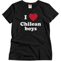 I love Chilean boys