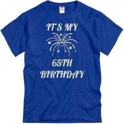 My 65th birthday