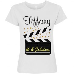PERSONALIZED 16TH MOVIE STAR