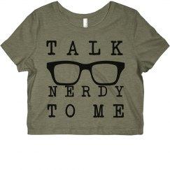 Talk nerdy to me tee