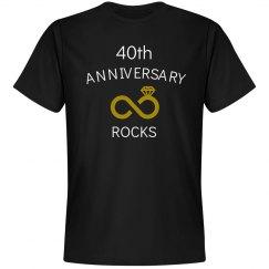 40th anniversary rocks