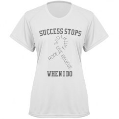 Success stops if i do