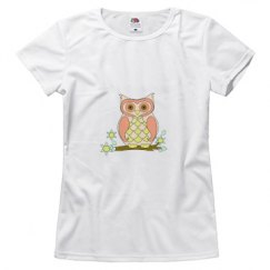 Cute Colorful Owl Shirt