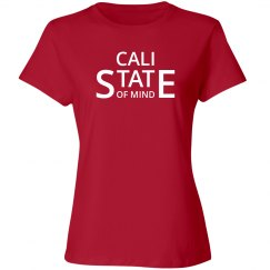 Cali state of mind shirt