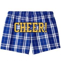 Cheer in School Colors