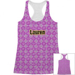 Floral All Over Print Tank Top for Her
