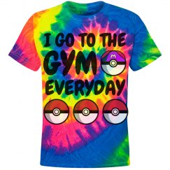 I go to the gym