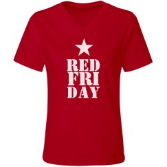 Military Red Friday Star