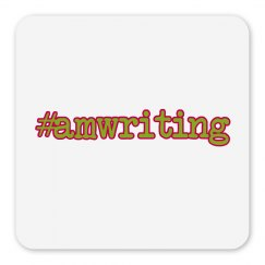 #amwriting Minimalist Magnet