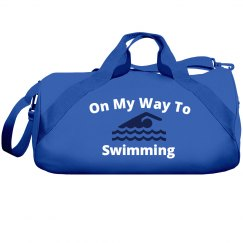 On my way to swimming