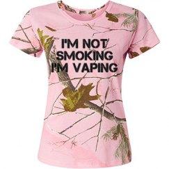 I'm Not Smoking I'm Vaping