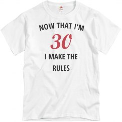 Now that i'm 30