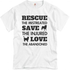 Rescue Save Love T