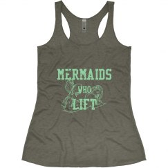 Mermaids who Lift Tank