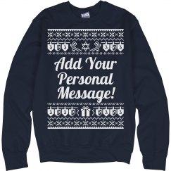 Personal Hanukkah Design