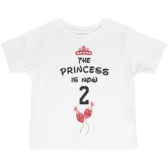 Princess is now 2