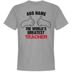 Custom Teachers shirt