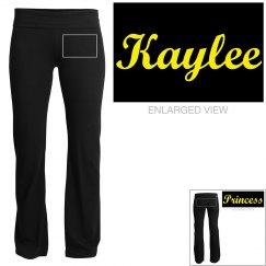 Kaylee, yoga pants