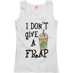 I Don't Give A Frap Women's Tank