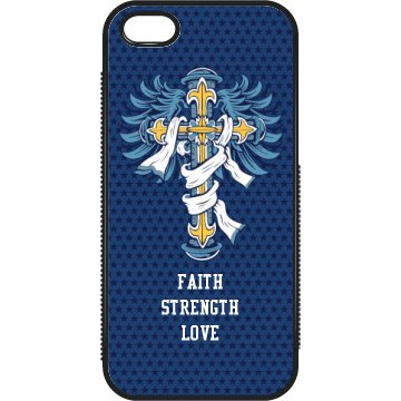 Faith iPhone Case