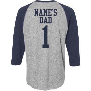 Father Baseball Tee