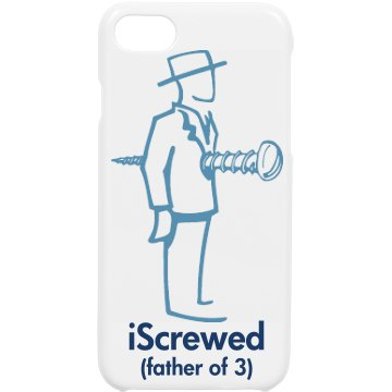 Father of 3 iPhone Cover