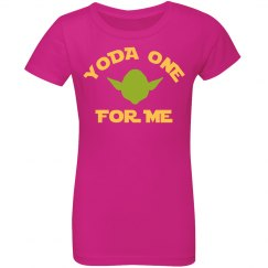 Custom Yoda One For Me Valentine's
