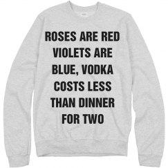 Funny Anti-Valentines Text Tee