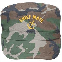 Chief mate cap