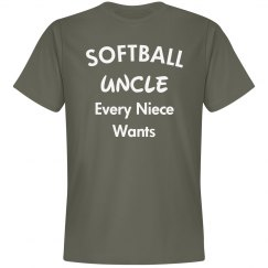 Softball uncle every niece wants