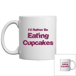 Rather be eating cupcakes