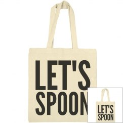 Let's Spoon Tote