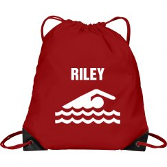 Riley's swim bag