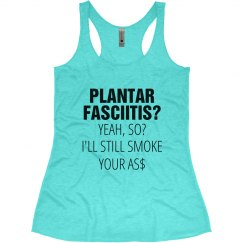 Plantar Fasciitis Funny Running